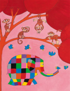 Elmer and the Monkeys