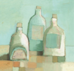 Still Life with Bottles I
