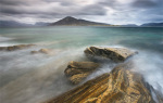 Harris from Taransay, Outer Hebrides by Lee Frost