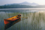 Guide Boat, Lake Placid, Adirondack State Park, New York by Michael Melford