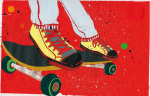 Skateboard by Sarah Beetson