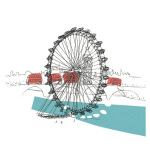 A London Eyeful II by Susie Brooks