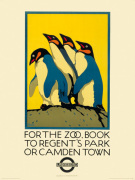 For the Zoo, Book to Regent's Park by Transport for London