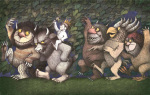 Let the Wild Rumpus Start III by Maurice Sendak