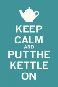 Keep Calm and Put the Kettle On by The Vintage Collection
