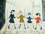 Children Playing by L S Lowry