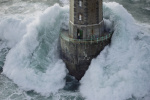 Phare de La Jument - The Lighthouse Keeper I by Jean Guichard