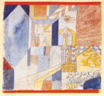 Architektur mit dem Krug, 1919 by Paul Klee