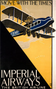 Imperial Airways - Travel with the Times
