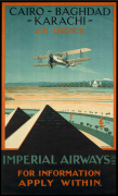 Imperial Airways - Cairo-Baghdad-Karachi