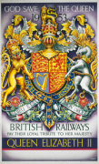 British Railways - Loyal Tribute to the Queen 1953