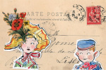 Carte Postal III by Claire Fletcher