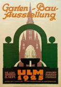 Gartenbau Ausstelung, Ulm 1925 by Anonymous