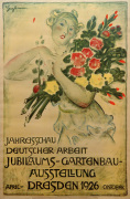 Gartenbau Ausstelung, Dresden 1926 by Otto Gussmann