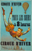 Cirque d'Hiver - French Circus, 1890 by Anonymous
