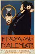 Frommes Calendar, 1899 by Koloman Moser