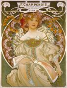 F Champenois - Printer 1898