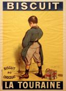 Biscuit La Touraine 1901