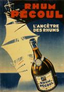 Rhum Pecoul - Martinique 1930