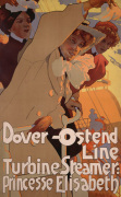 Dover -Ostend Line, 1900 by Adolfo Hohenstein