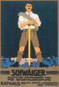 Schwaiger Sports Equipment,1910 by Karl Kunst
