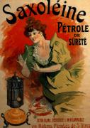 Saxoleine Parafin, 1900 by Jules Cheret
