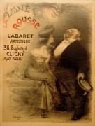La Lune Rousse Cabaret, 1904 by Charles Lucien Leandre