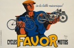 Favor Cycles and Motorcycles 1937