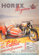 Horex Regina Motorcycle and Sidecar 1955