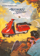 Heinkel Tourist Scooter, 1955 by Anonymous