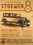 Stoewer 8-Cylinder, 1928 by Anonymous