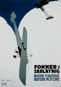 Fokker Sablatnig, 1920 by Rolf Niczky