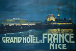 Grand Hotel de France, Nice 1905 by Anonymous
