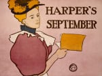 Harper's, September 1896 by Edward Penfield