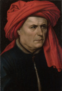 A Man by Robert Campin