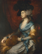 Mrs Siddons by Thomas Gainsborough