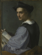 Portrait of a Young Man by Andrea del Sarto