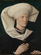 Portrait of a Woman of the Hofer Family by Unknown, Swabian