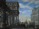 An Architectural Fantasy by Dirck van Delen