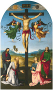 The Crucified Christ with the Virgin Mary Saints and Angels (The Mond Crucifixion)
