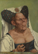 An Old Woman ('The Ugly Duchess') by Quentin Massys