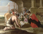 The Adoration of the Shepherds by The Le Nain Brothers