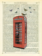 Red Telephone Box by Marion McConaghie