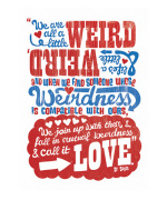 We Are All a Little Weird