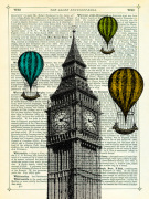 Big Ben and Balloons
