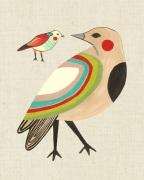Little Friends Rainbow Bird by Inaluxe