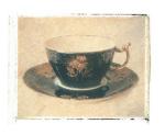 Black Teacup by Deborah Schenck