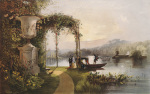 The Lake Trentham Hall Gardens