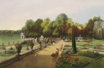 Upper and Lower Terrace Gardens, Bowood by Edward Adveno Brooke