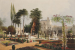 The Parterre, in the Gardens at Wilton by Edward Adveno Brooke